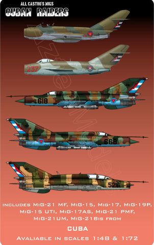 D-047 Cuban Air Force. Part I