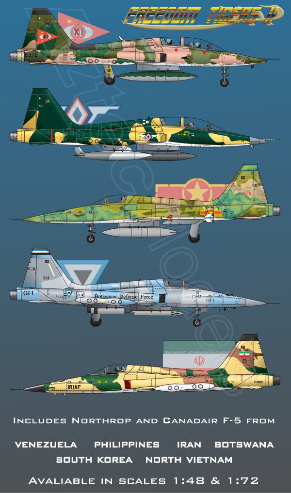 D-050 Freedom Tigers II Northrop F-5 A/B