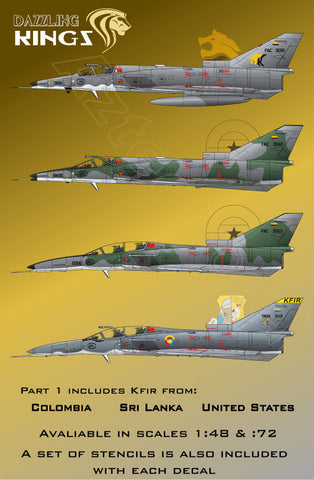 D-053 IAI Kfir. Part 1 Dazzling Kings