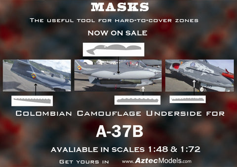 M-001 Colombian A-37 Dragon Scheme Mask