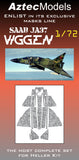 M-004 Saab Viggen  Camo Splinter Mask