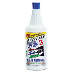 Lift Off No. 3 Pen, Ink & Marker Graffiti Remover, 32 oz. Flip-Top Bottle