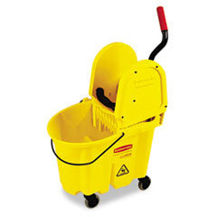 Wavebrake 35-Quart Bucket/Wringer Combinations, Yellow