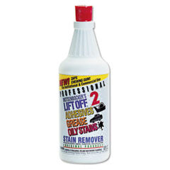 2 Adhesive/Grease/Oil Stain Remover, 32oz, Bottle