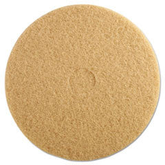 Ultra High-Speed Floor Burnishing Pads 3400, 20-Inch, Tan
