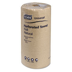 Universal Perforated Towel Roll, Two-Ply, 11 x 9, Natural, 210/Pack