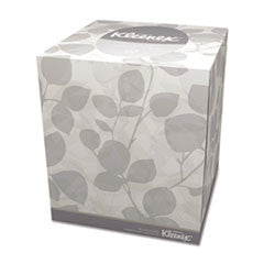 Boutique White Facial Tissue, 2-Ply, Pop-Up Box, 95/Box