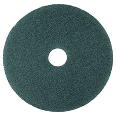 "Cleaner Floor Pad 5300, 17"", Blue"