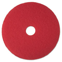"Buffer Floor Pad 5100, 17"", Red"