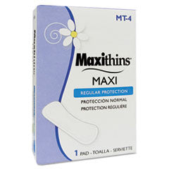 Maxithins Thin, Full Protection Pads, Individually Boxed