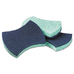Power Sponge #3000, 2.8 x 4 1/2, Purple/Green