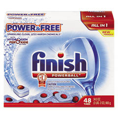 Powerball Power & Free Dishwasher Tabs