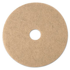 Ultra High-Speed Natural Blend Floor Burnishing Pads 3500, 17-Inch, Natural Tan