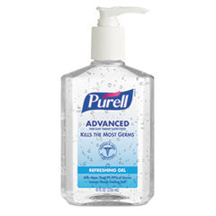 Instant Hand Sanitizer, 8-oz. Pump Bottle