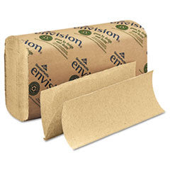 Multifold Paper Towel, 9-1/5x9-2/5, Brown