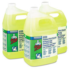 Finished Floor Cleaner, Lemon Scent, 1gal Bottle