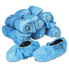 Disposable Shoe Covers, Nonwoven Polypropylene, Blue