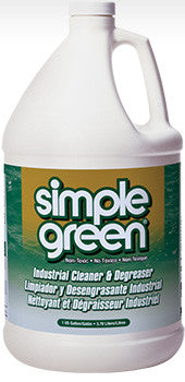 Simple Green Industrial Cleaner & Degreaser, 1 gallon
