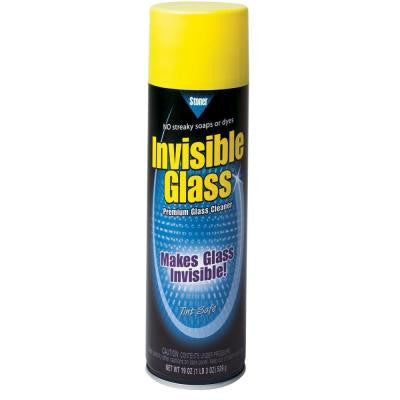 Aerosol Glass Cleaner, 19 oz
