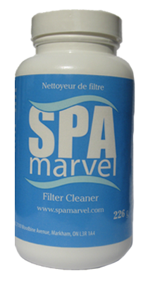 SPA MARVEL FILTER CLEANER - 8oz
