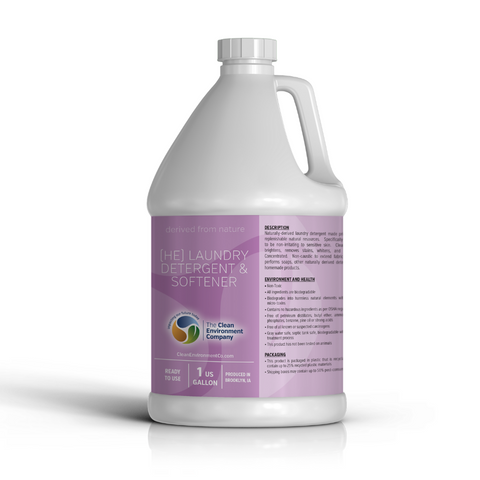 Clean Environment N2 Laundry Detergent & Softener