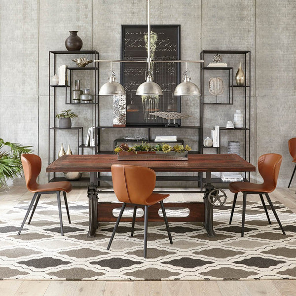 Eclectic Furniture Mix Creates Cohesive Space