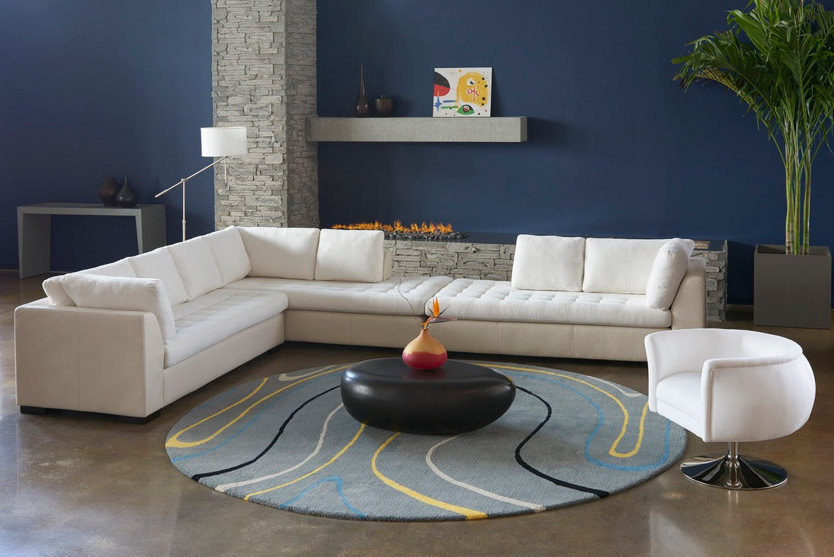 Astoria Sectional Sofa by American Leather at Artesanos