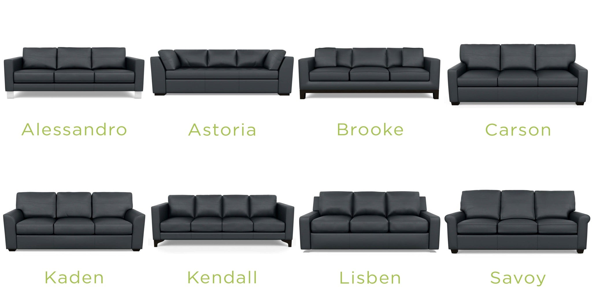 American Leather Classic Leather Sofas