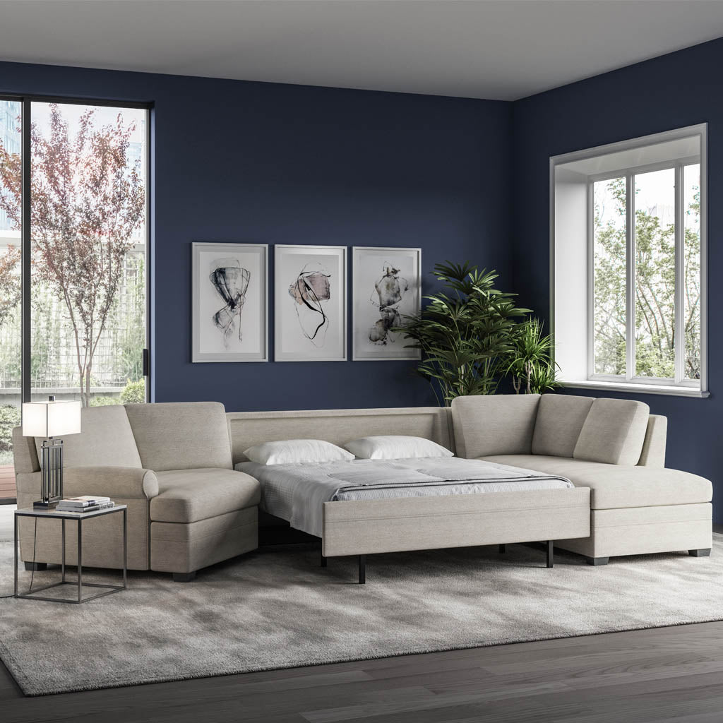 Gaines Comfort Sleeper Sectional Sofa on Sale