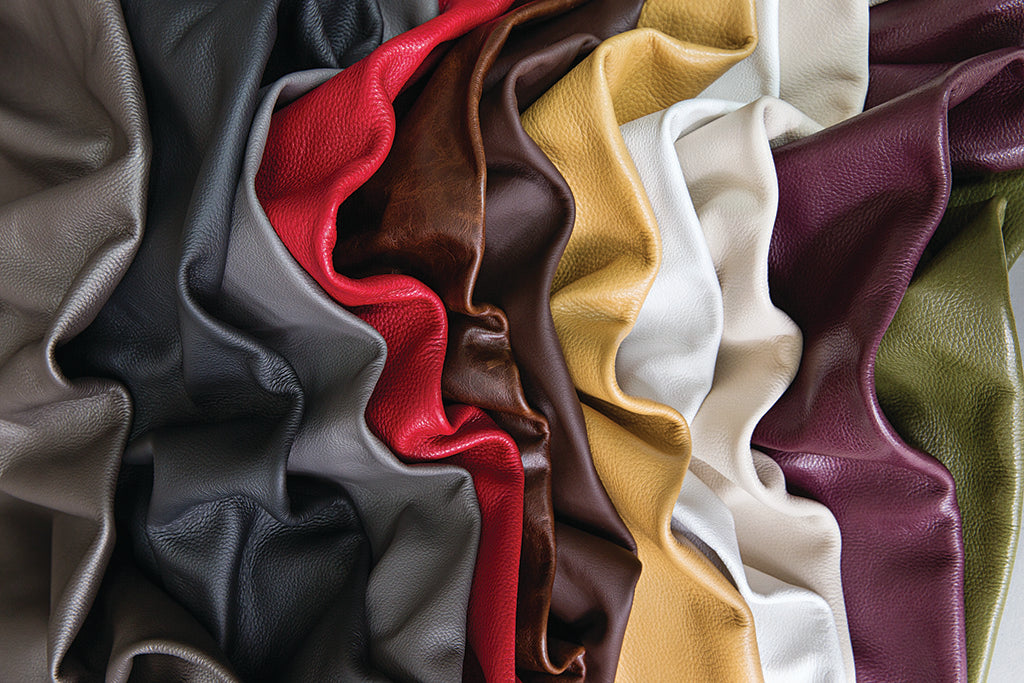 Leather Swatches for Sleeper Sofas by American Leather