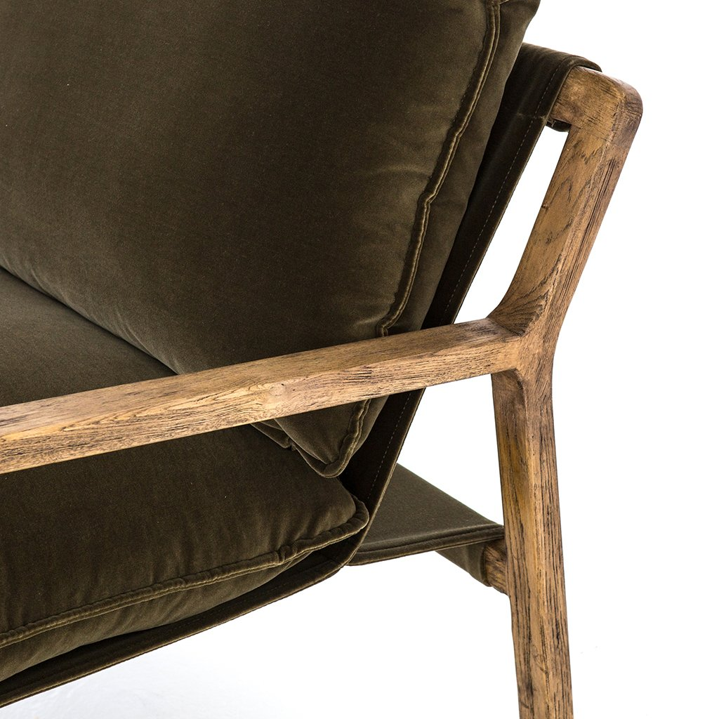 Picture of: Ace Chair Olive Green Accent Chair
