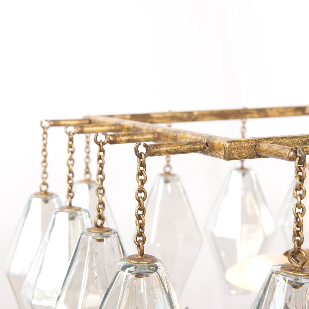 Four Hands Adeline Rectangle Chandelier IHTN-003A
