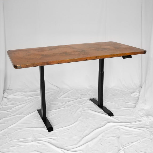 Copper Desk Table Adjustable