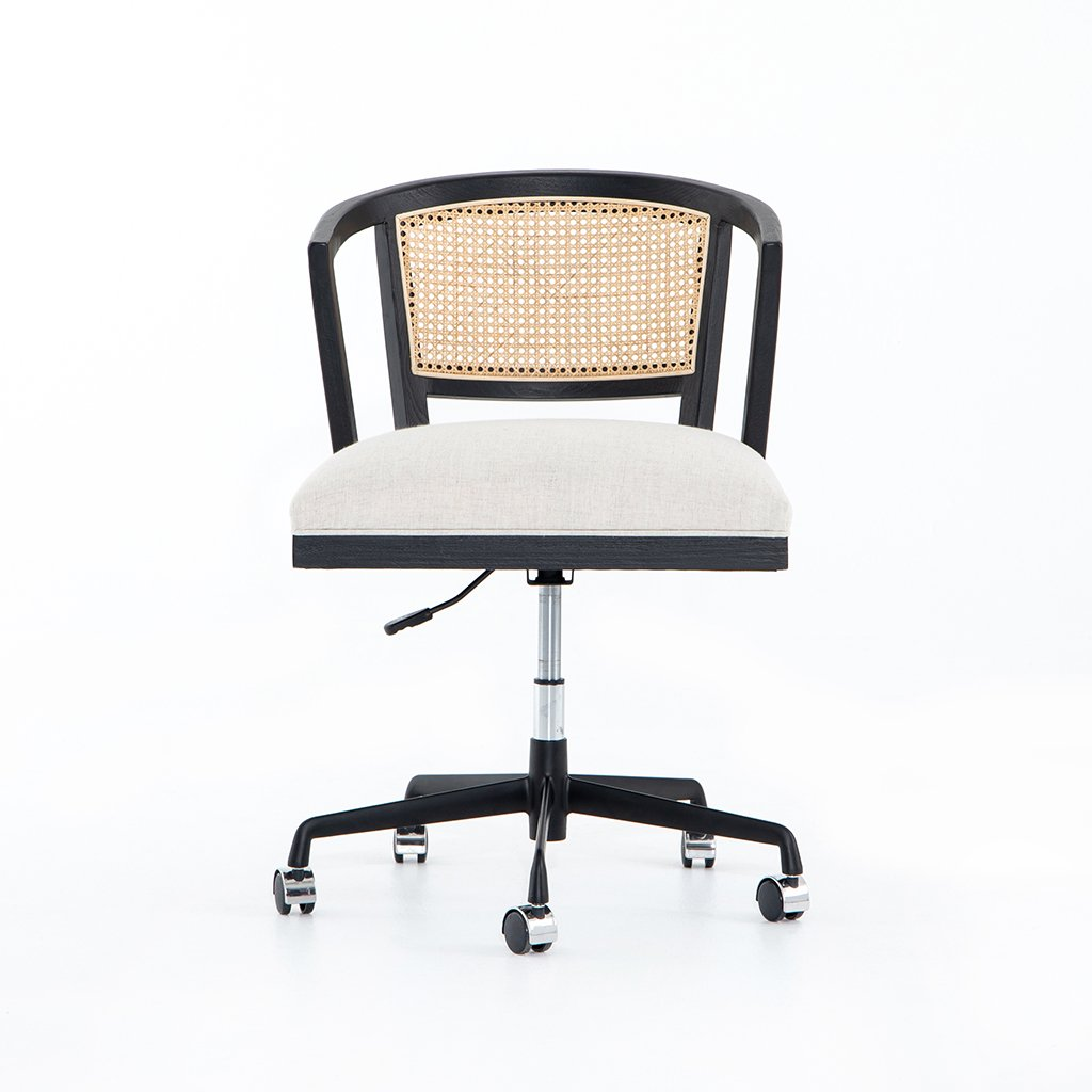 Alexa Desk Chair - Brushed Ebony CTOW-0040203-084P Front View