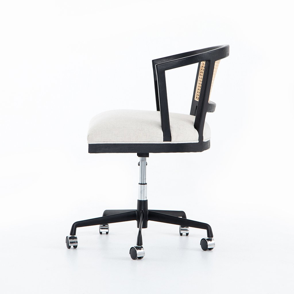 Alexa Desk Chair - Brushed Ebony CTOW-0040203-084P Side View