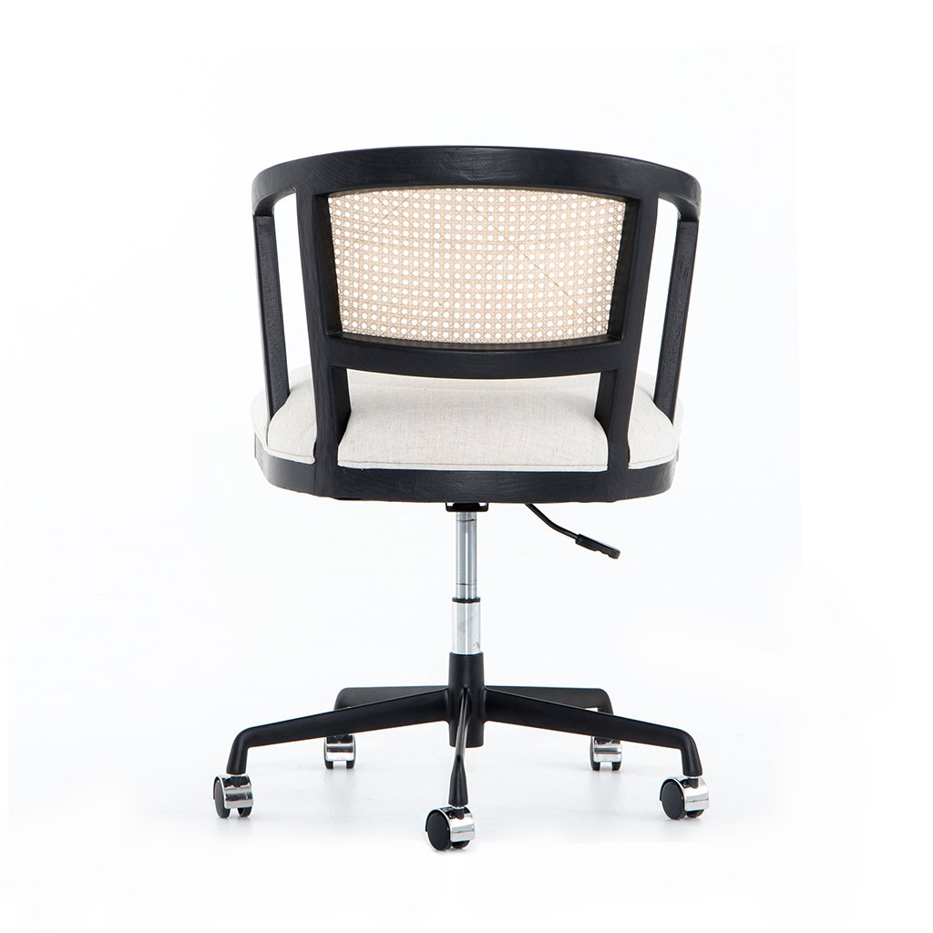 Alexa Desk Chair - Brushed Ebony CTOW-0040203-084P Back View