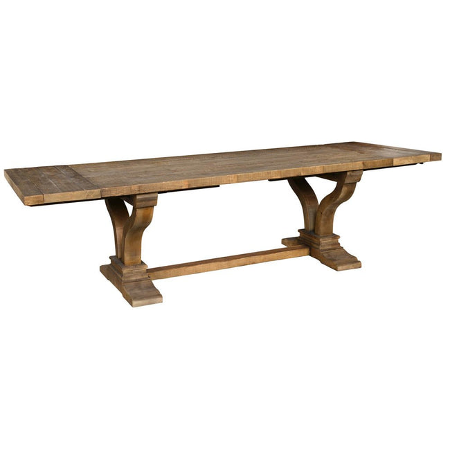 Post Rail Extension Dining Table in 2019 Furniture Extension
