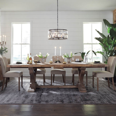 Alexander Extension Dining Table Classic Kosas Home
