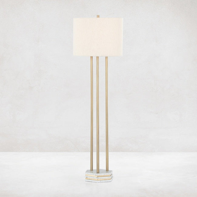 Amelie Floor Lamp - Antique Brass