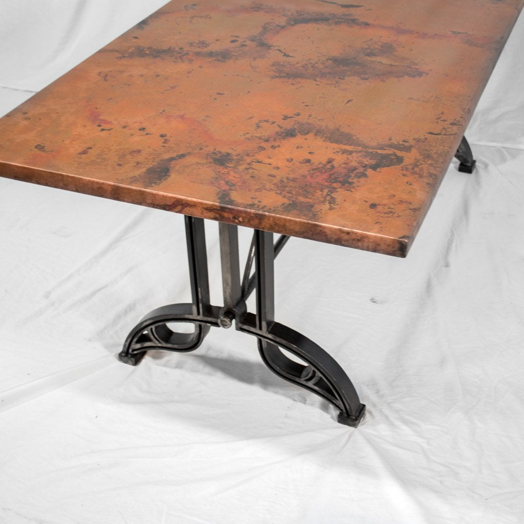 Custom Copper Dining Table