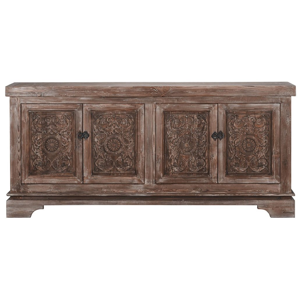 Amita Carved Wood Sideboard Classic Home 52003644