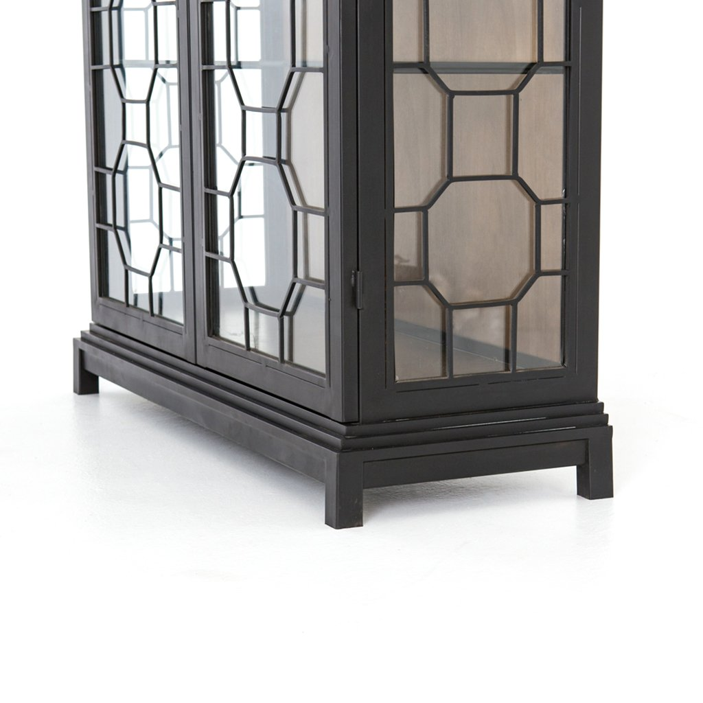 Amma Large Glass Cabinet by Four Hands furniture
