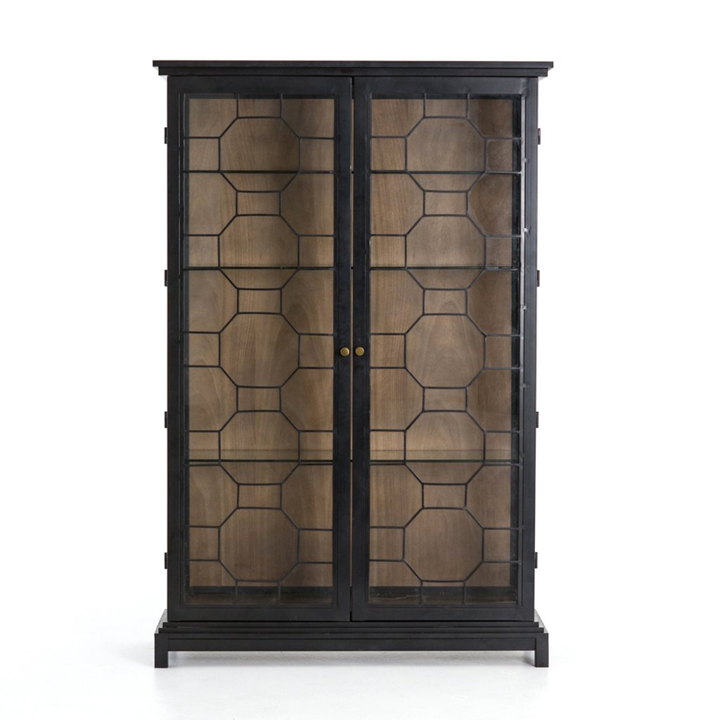 Amma Large Glass Cabinet