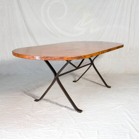 Diorite Copper Dining Table