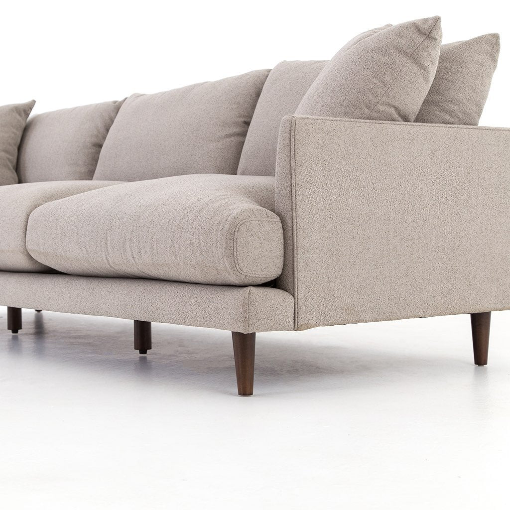 Asta three seat sofa