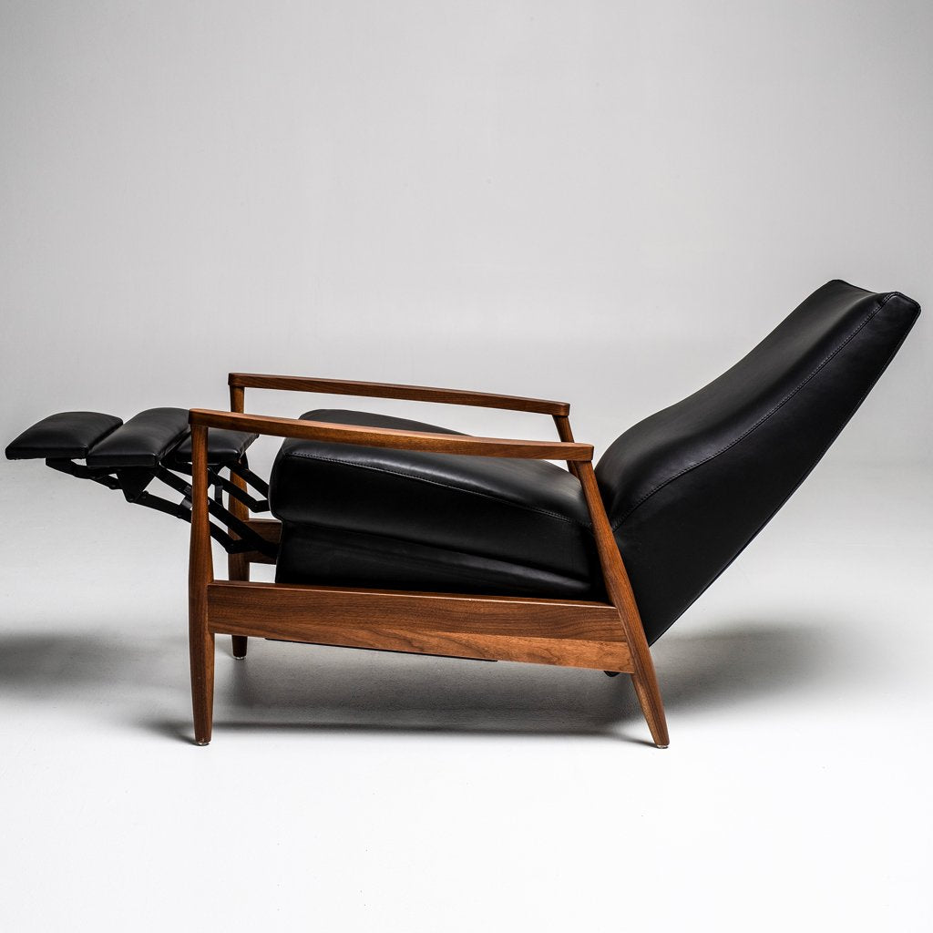 Aston Recliner Chair by American Leather Black