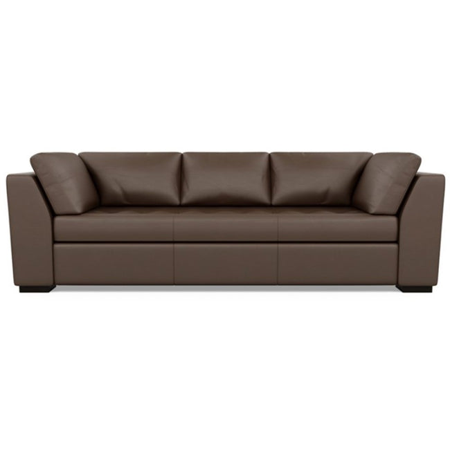 Astoria Leather Sofa Bali Brandy by American Leather