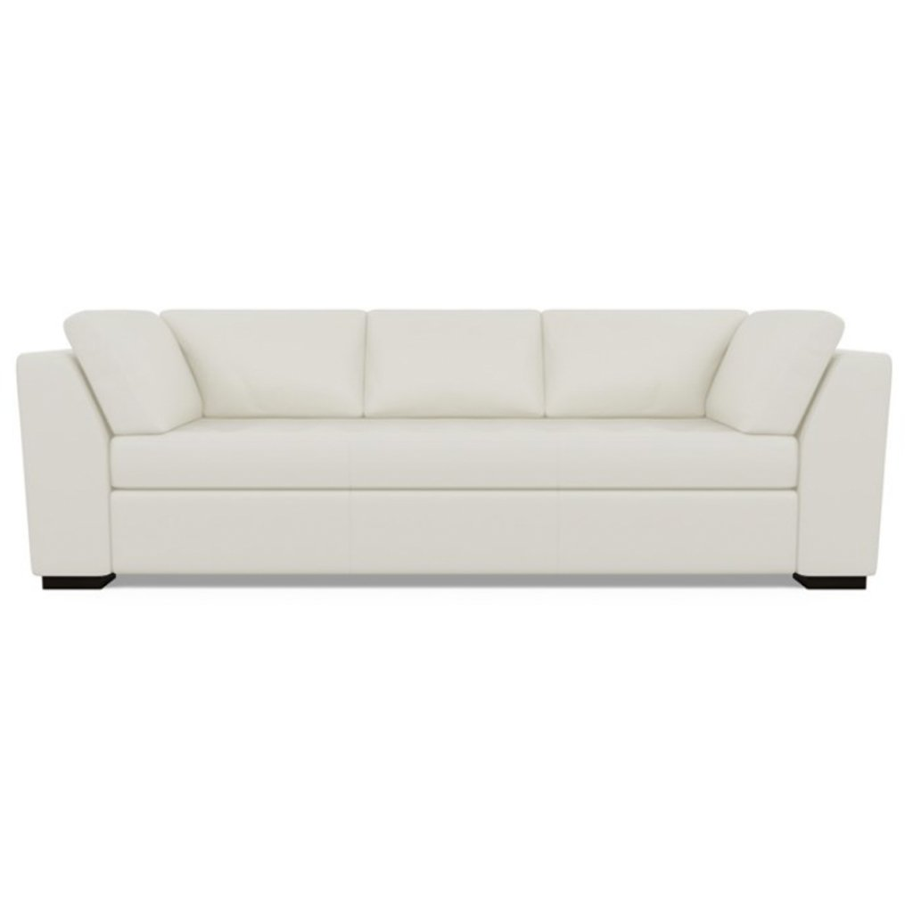 Astoria Leather Sofa Bali Cloud by American Leather