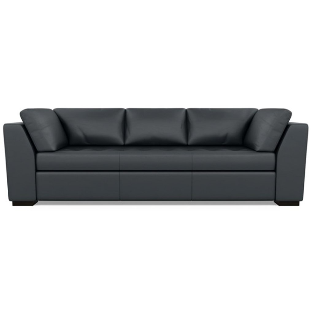 Astoria Leather Sofa Bali Storm by American Leather