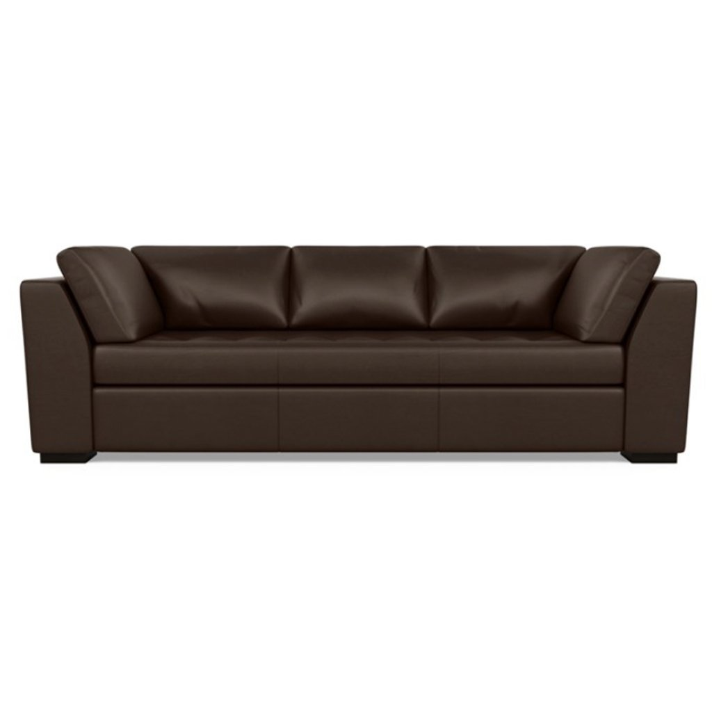 Astoria Leather Sofa Capri Branch by American Leather